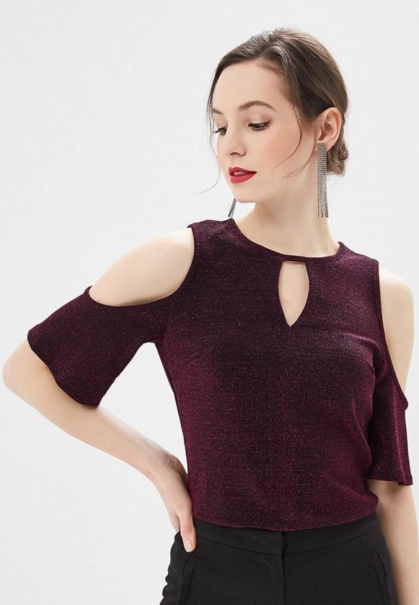 женская блузка dorothy perkins, фиолетовая