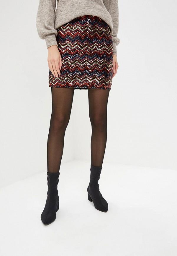женская прямые юбка dorothy perkins, разноцветная