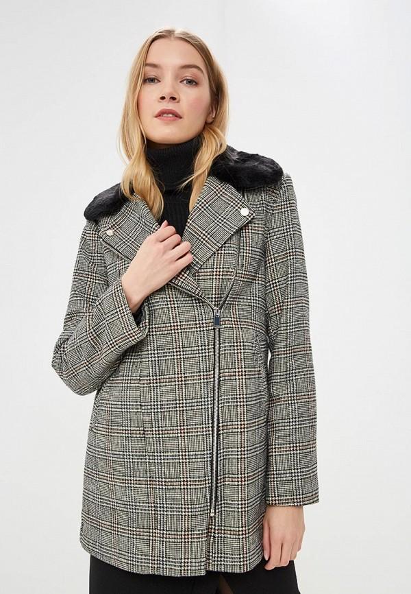 женское пальто dorothy perkins, серое