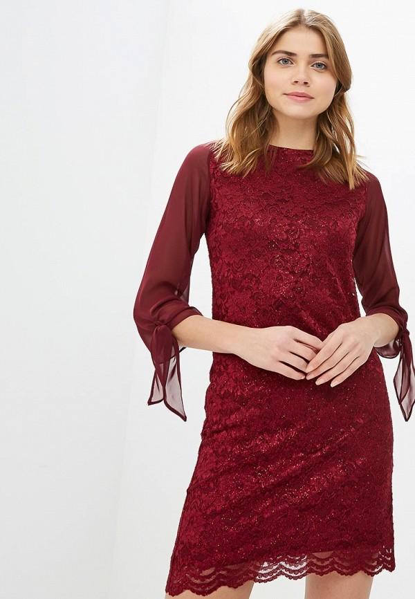 женское вечерние платье dorothy perkins, бордовое