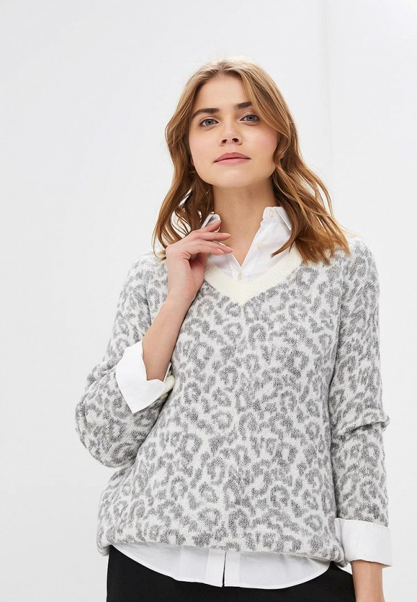 женский пуловер dorothy perkins, серый