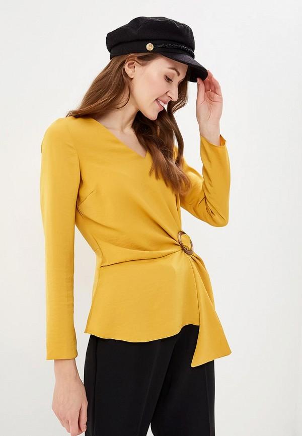 женская блузка dorothy perkins, желтая