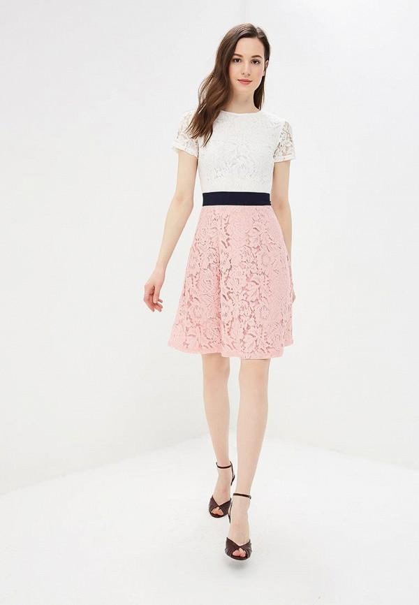 Фото 2 - женское вечернее платье Dorothy Perkins розового цвета