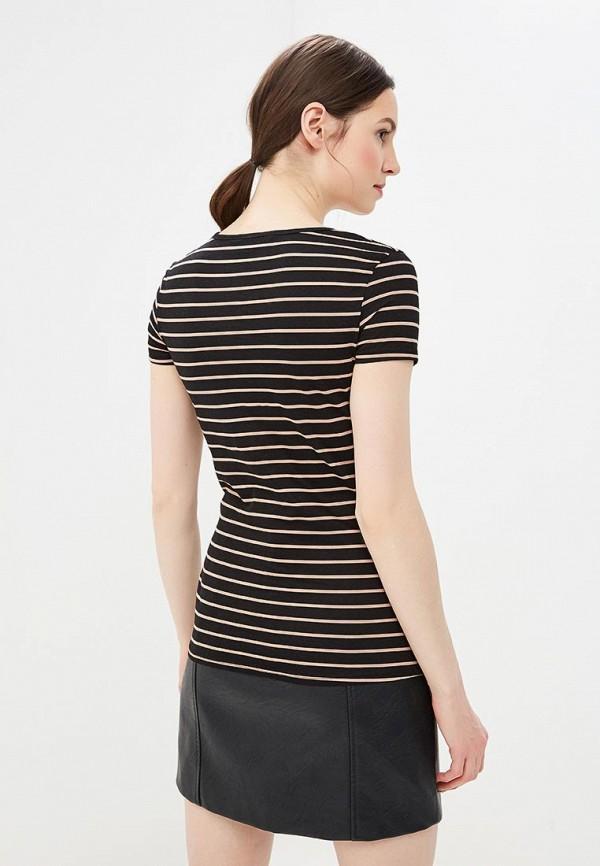 Фото 3 - женскую футболку Dorothy Perkins черного цвета