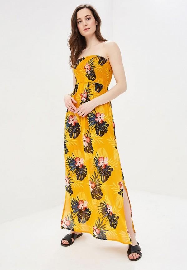 женское повседневные платье dorothy perkins, оранжевое