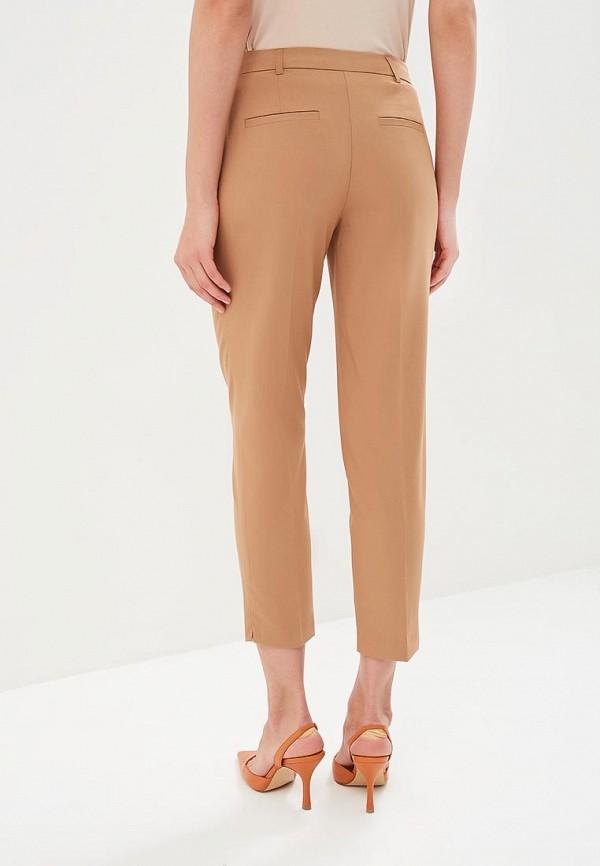 Фото 3 - женские брюки Dorothy Perkins бежевого цвета