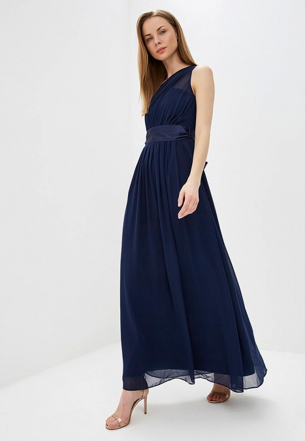 Купить Платье Dorothy Perkins, do005ewesnk8, синий, Весна-лето 2019