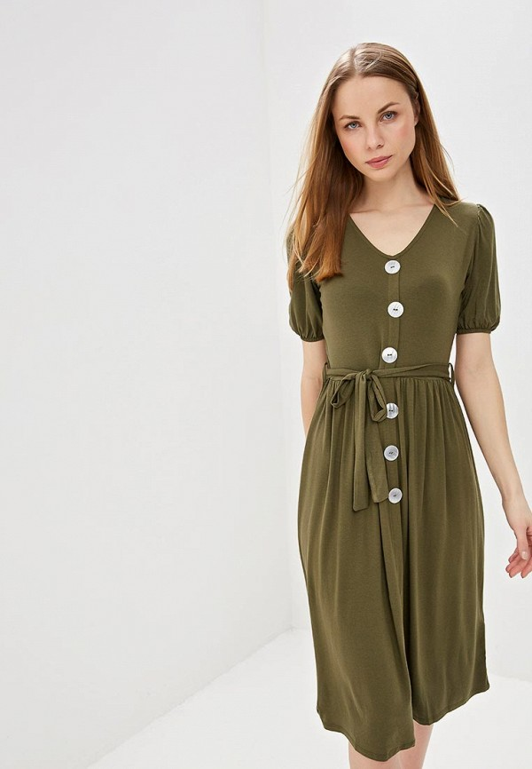 женское повседневные платье dorothy perkins, хаки