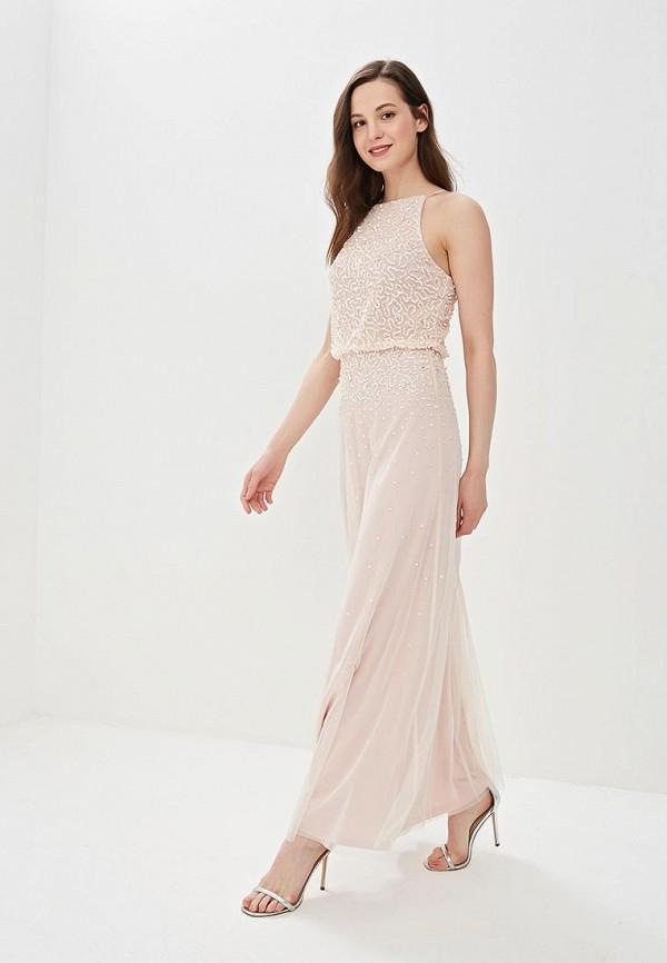 женское вечерние платье dorothy perkins, розовое