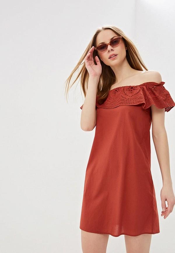 женское платье dorothy perkins, коричневое