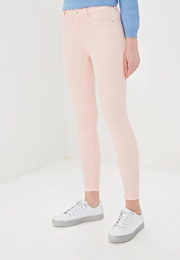 женские повседневные брюки dorothy perkins, розовые