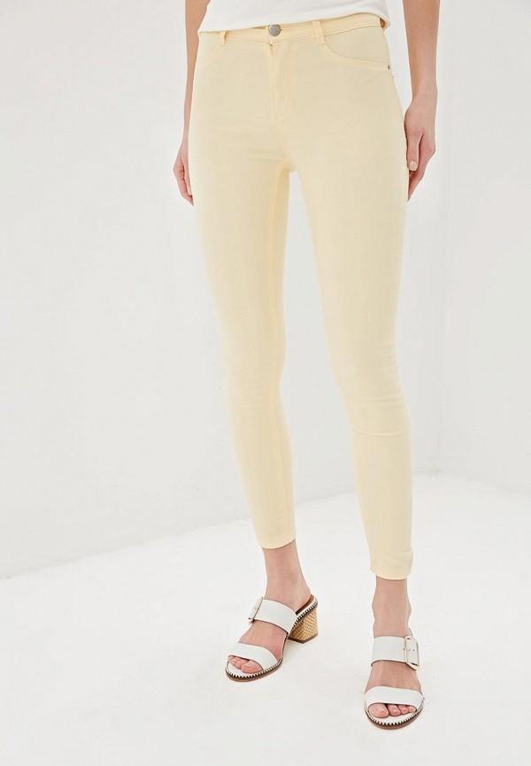 женские повседневные брюки dorothy perkins, желтые
