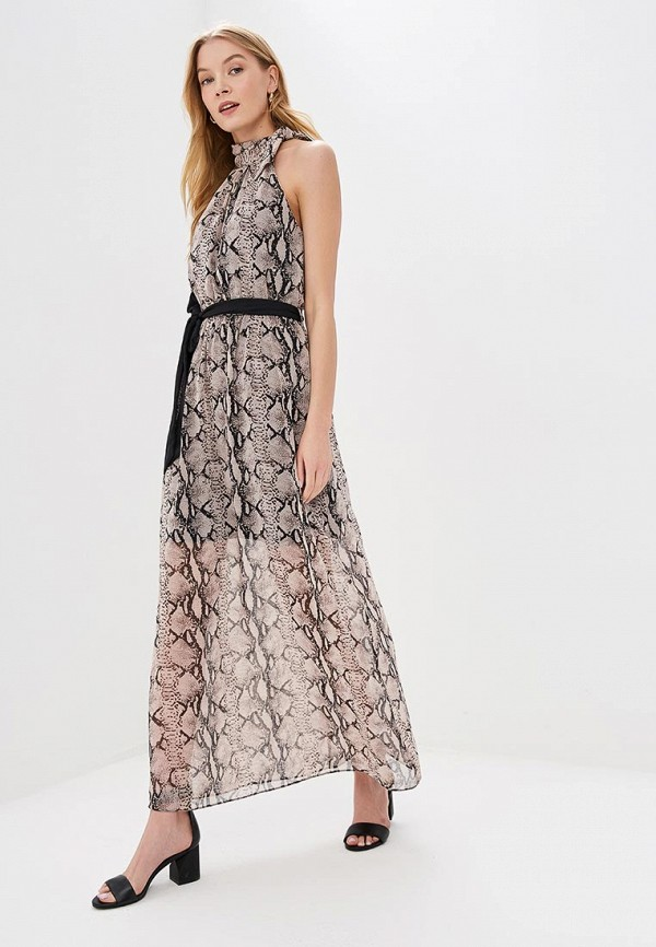 женское повседневные платье dorothy perkins, бежевое