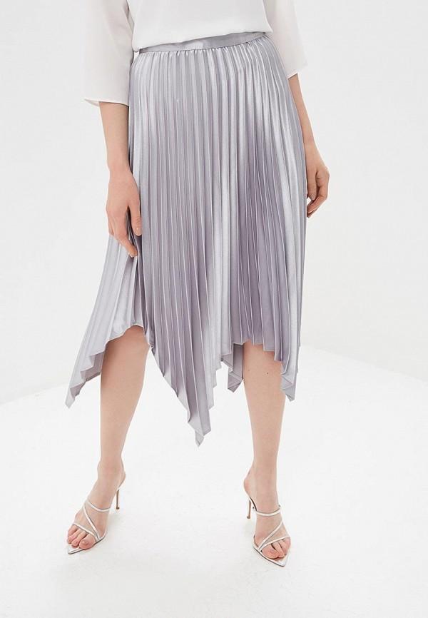 женская юбка dorothy perkins, серебряная