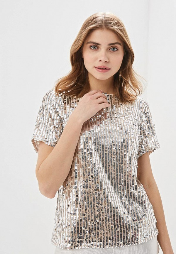 женская блузка dorothy perkins, серебряная