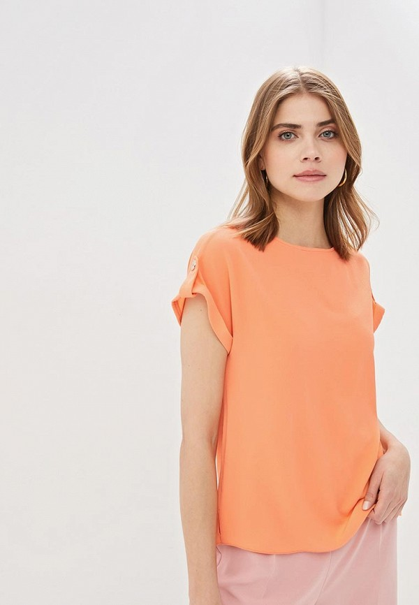 женская блузка dorothy perkins, оранжевая