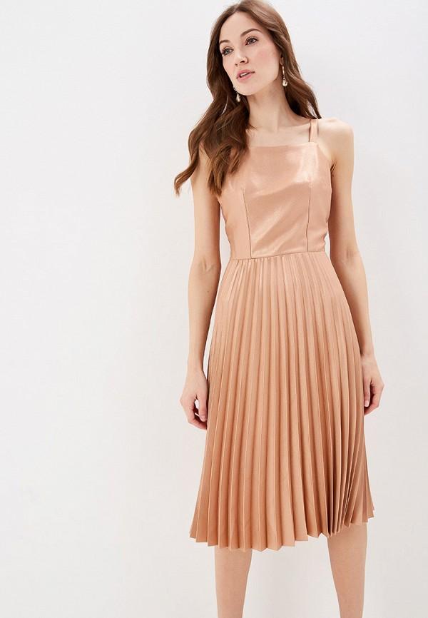 женское вечерние платье dorothy perkins, золотое