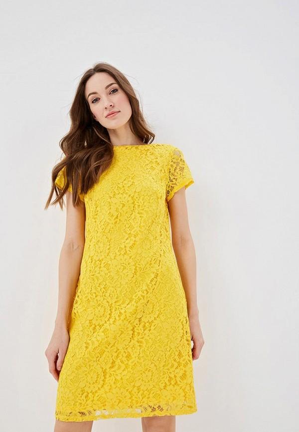 женское повседневные платье dorothy perkins, желтое