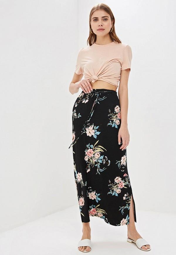 Фото 2 - женскую юбку Dorothy Perkins черного цвета