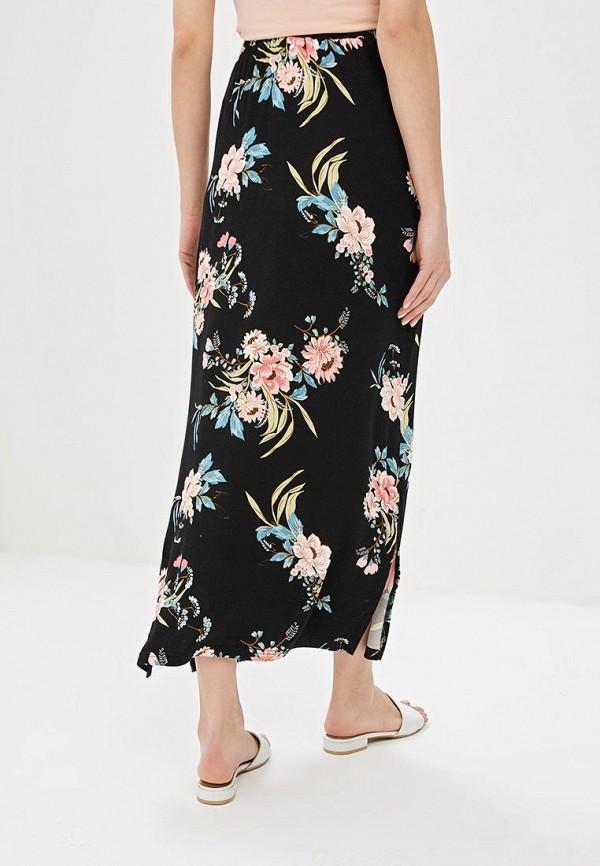 Фото 3 - женскую юбку Dorothy Perkins черного цвета