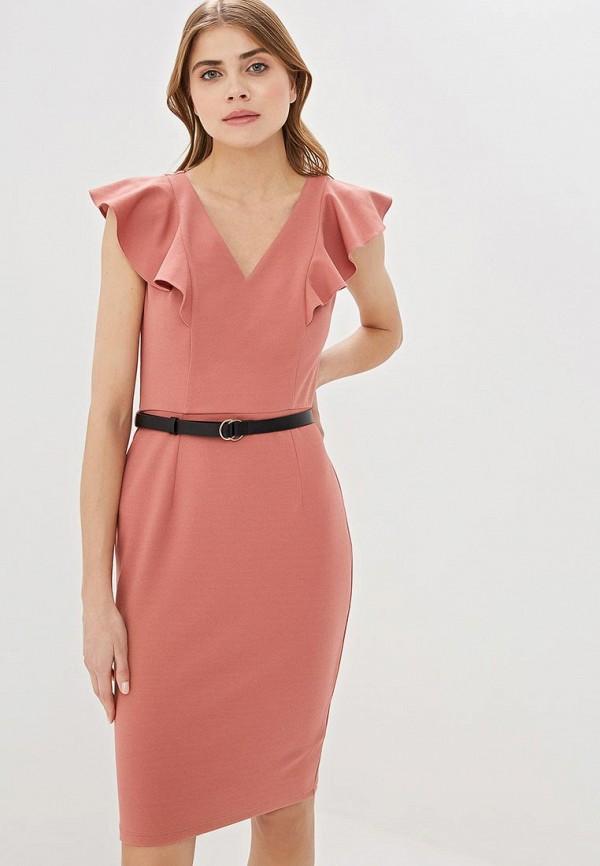 женское платье-футляр dorothy perkins, розовое