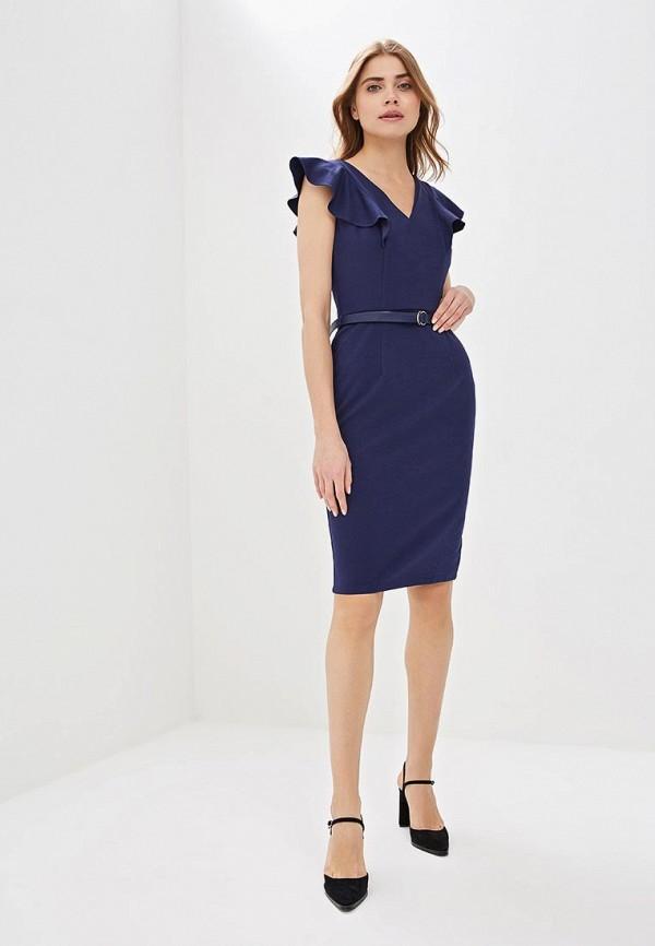 Фото 2 - женское платье Dorothy Perkins синего цвета