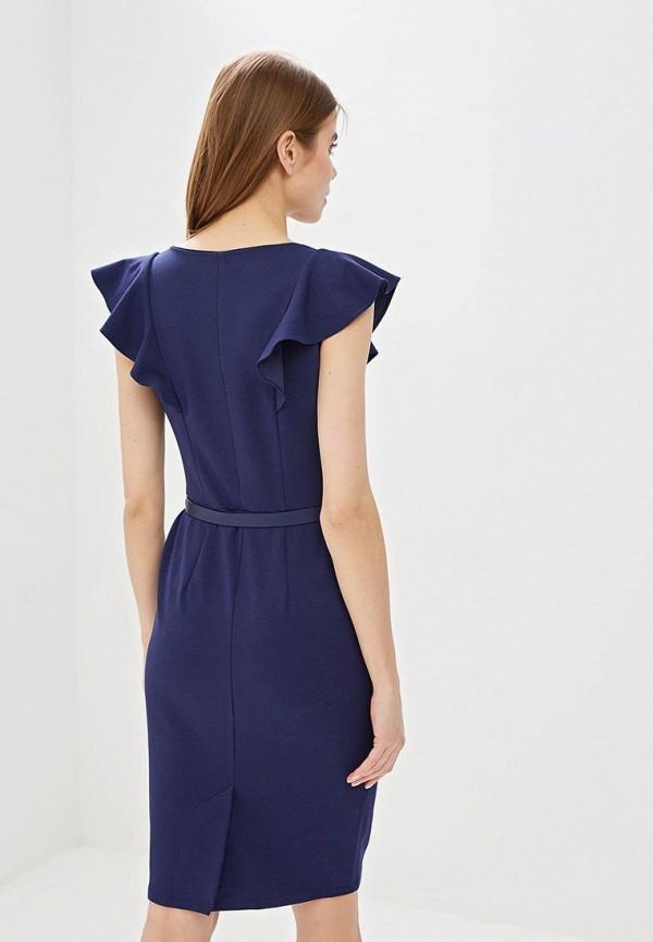 Фото 3 - женское платье Dorothy Perkins синего цвета