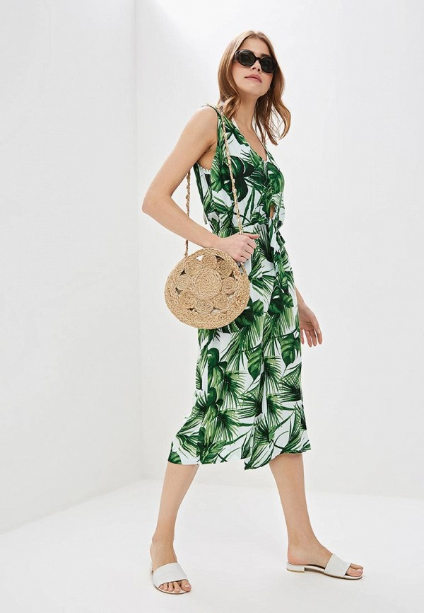 Фото - женский комбинезон Dorothy Perkins зеленого цвета