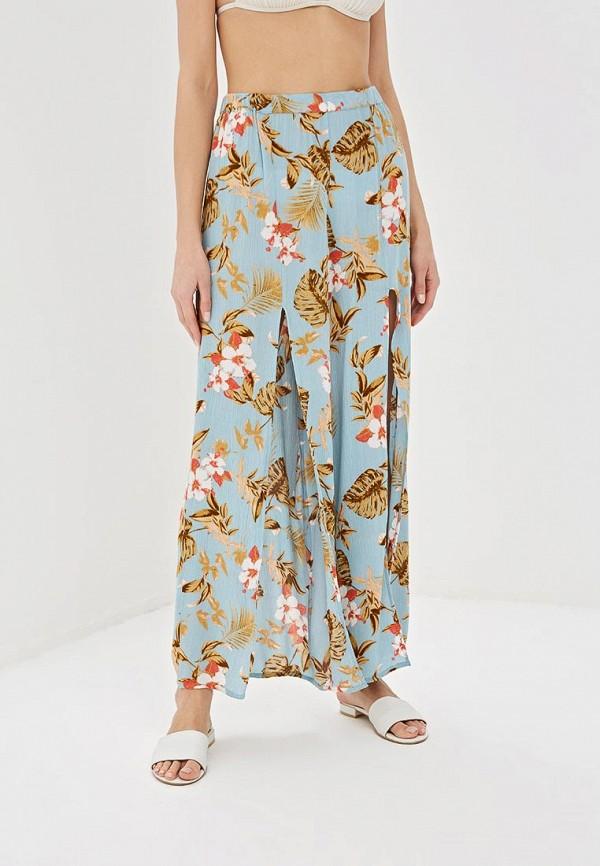 женские повседневные брюки dorothy perkins, голубые
