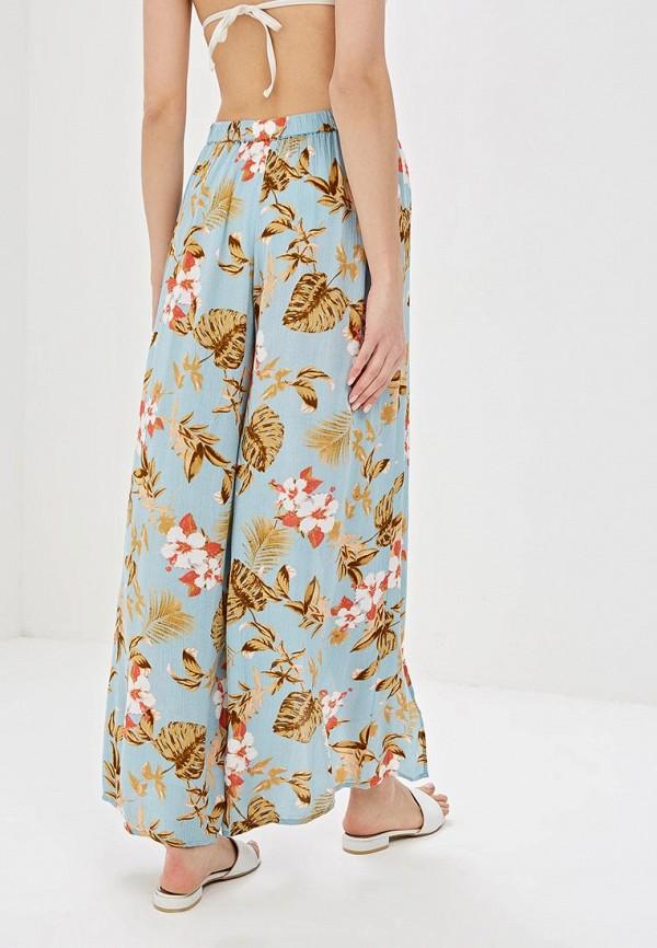 Фото 3 - женские брюки Dorothy Perkins голубого цвета