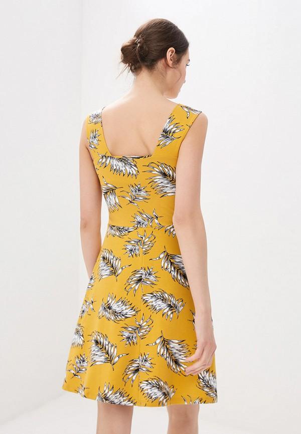 Фото 3 - женский сарафан Dorothy Perkins желтого цвета