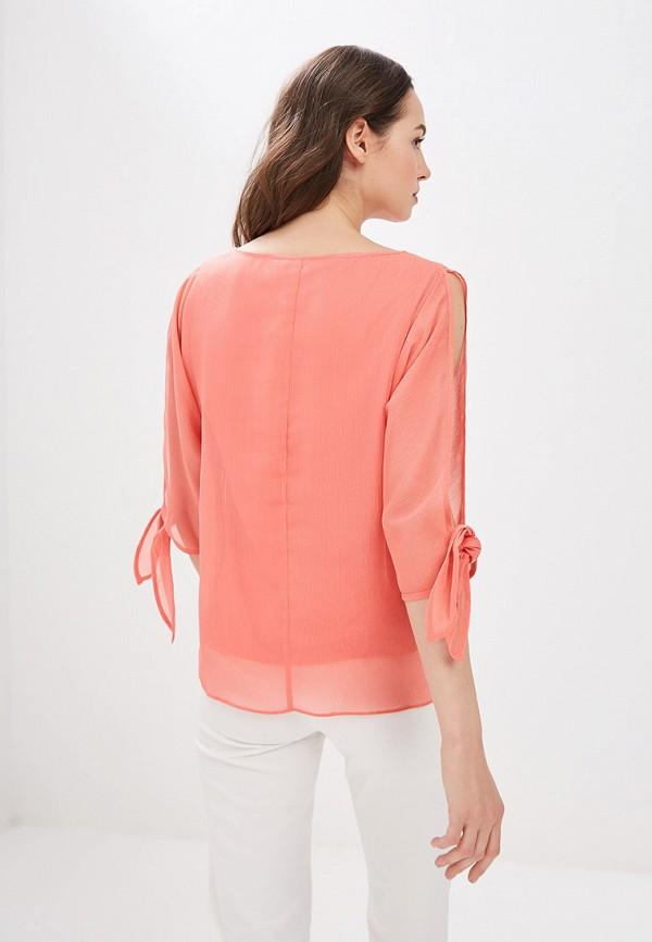 Фото 3 - женскую блузку Dorothy Perkins розового цвета