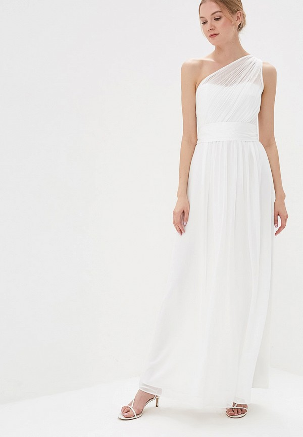 Платье Dorothy Perkins Dorothy Perkins DO005EWFDUX2 white net yarn perkins collar long sleeves see through sexy bodysuit