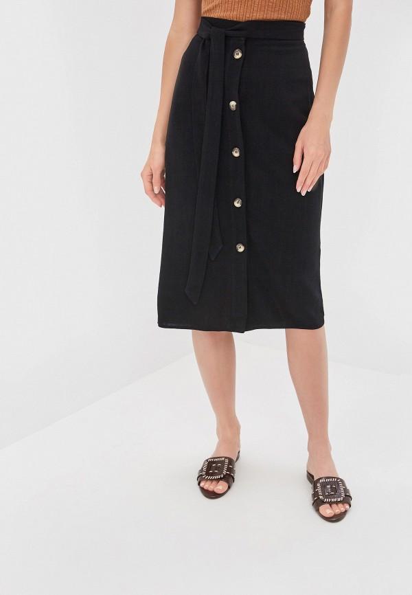 женская прямые юбка dorothy perkins, черная