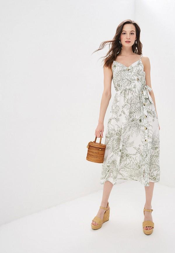 Сарафан Dorothy Perkins Dorothy Perkins DO005EWFDUY8 white net yarn perkins collar long sleeves see through sexy bodysuit