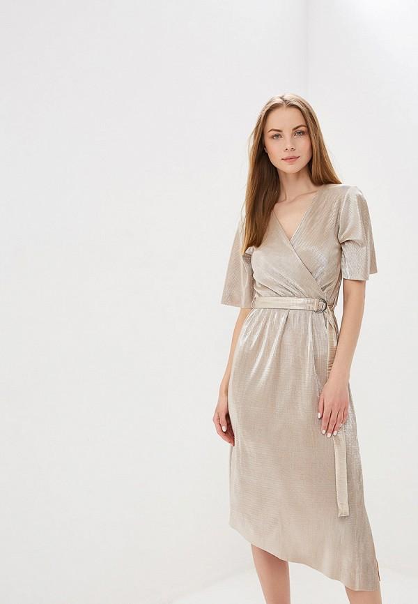 женское платье dorothy perkins, золотое
