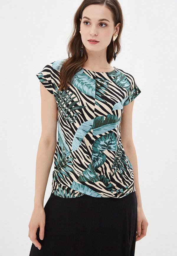 женская футболка dorothy perkins, разноцветная