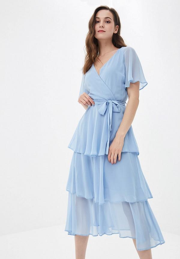 женское вечерние платье dorothy perkins, голубое
