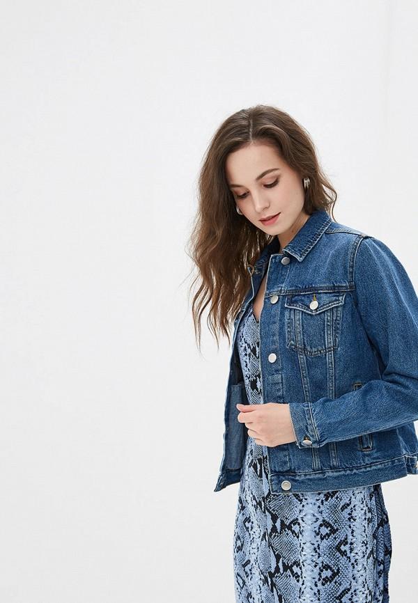 женская джинсовые куртка dorothy perkins, синяя