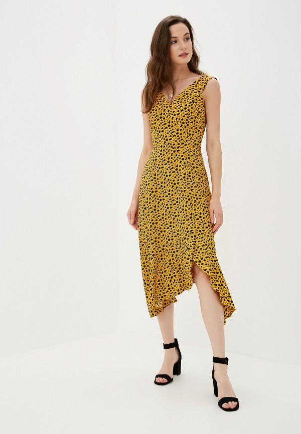 Купить женское платье Dorothy Perkins желтого цвета
