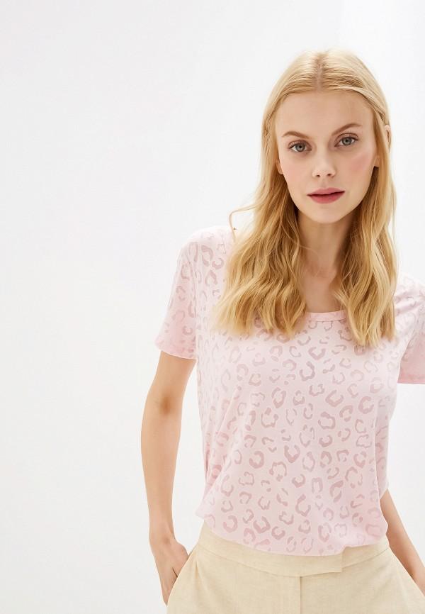 Купить женскую футболку Dorothy Perkins розового цвета
