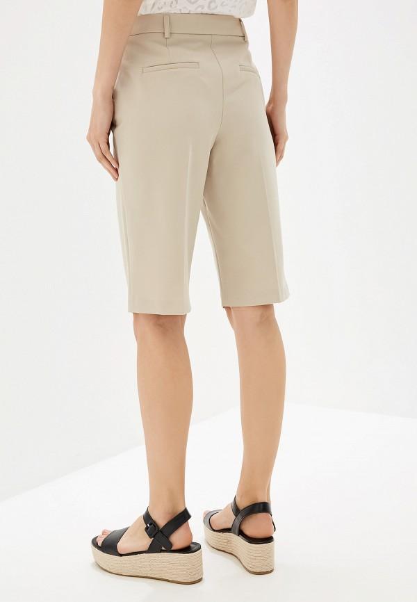Фото 3 - Женские шорты Dorothy Perkins бежевого цвета