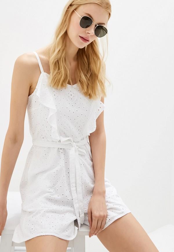 Купить женский комбинезон Dorothy Perkins белого цвета