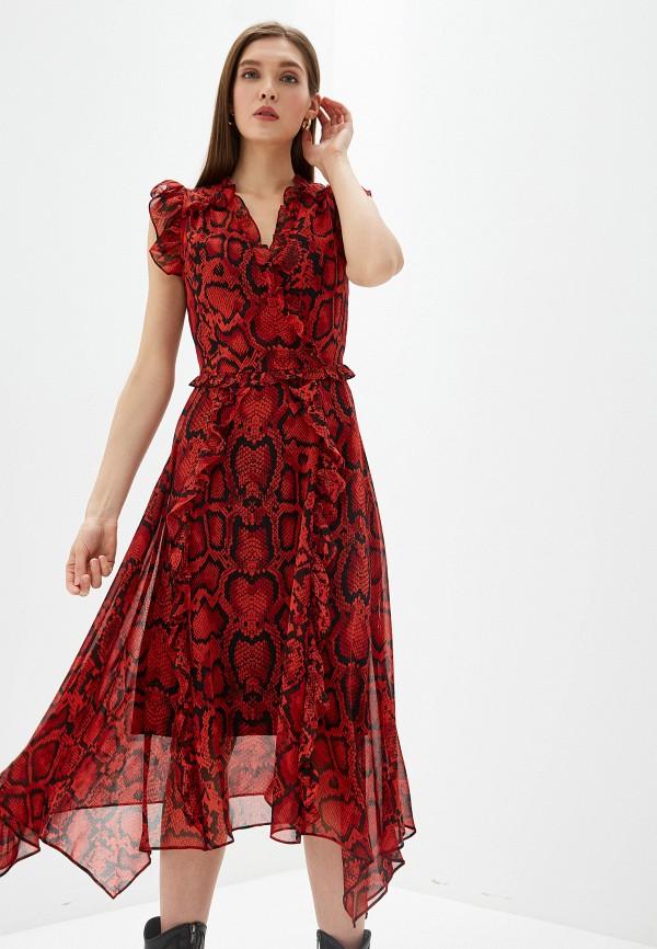 женское платье dorothy perkins, красное