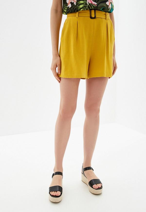 Фото - Женские шорты Dorothy Perkins желтого цвета