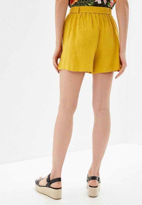 Фото 3 - Женские шорты Dorothy Perkins желтого цвета