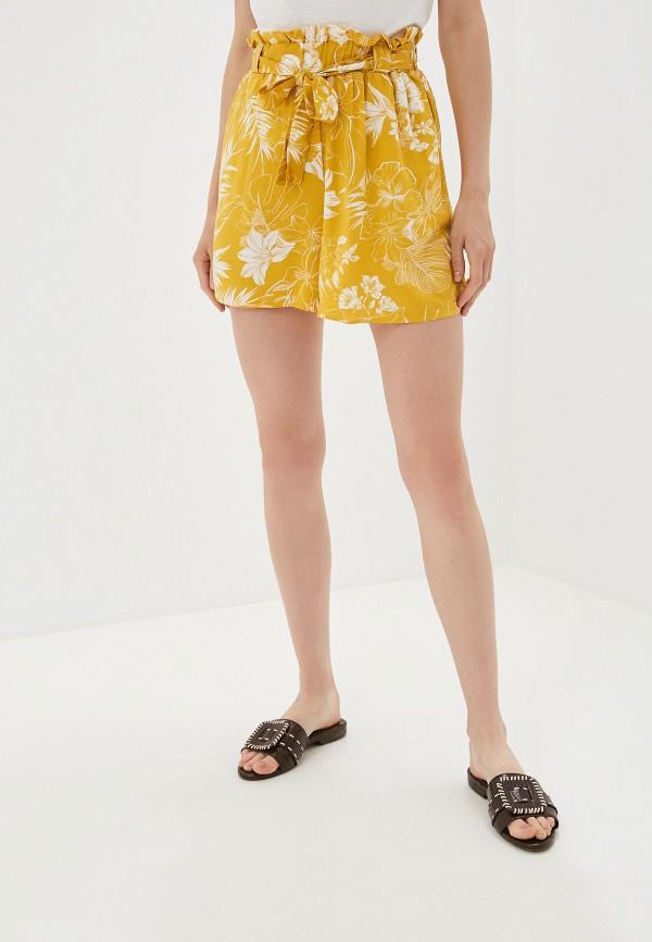 женские шорты dorothy perkins, желтые