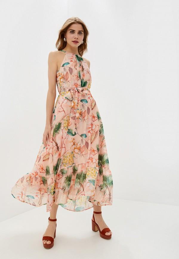 Фото - женское платье Dorothy Perkins розового цвета