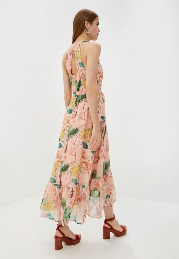 Фото 3 - женское платье Dorothy Perkins розового цвета