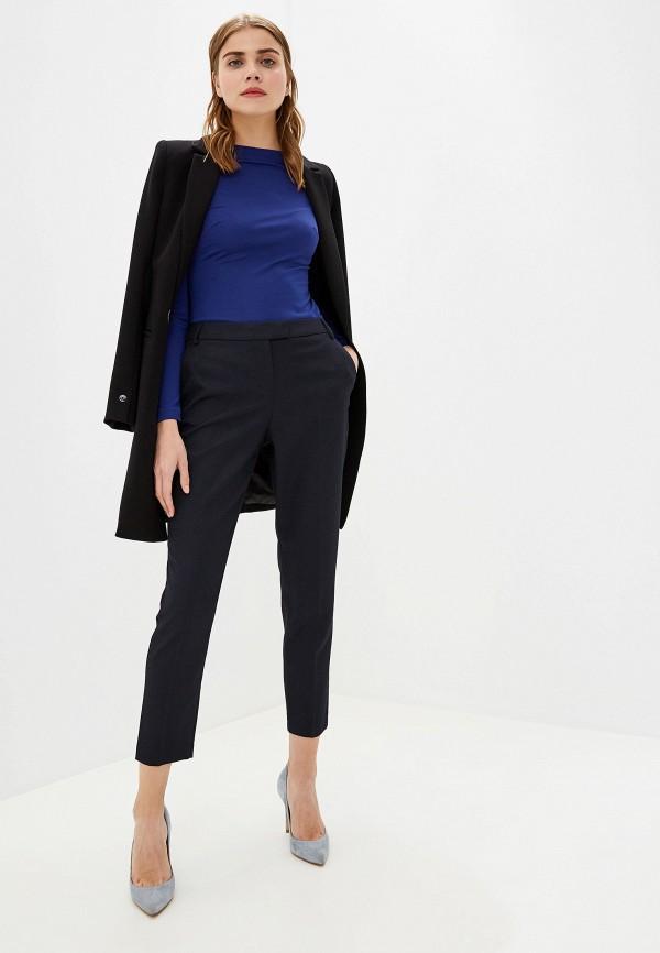Фото 2 - женские брюки Dorothy Perkins синего цвета